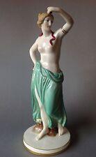 Nouveau Porcellana-personaggio semi-atto nude Ernst Wahliss Vienna turn Teplitz ~ 1900
