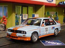 Fly BMW m3 e30 Rallye Gulf en 1:32 également pour CARRERA EVOLUTION fy038106