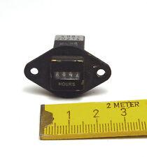 Mechanischer Miniatur Betriebsstunden-Zähler 110 VAC, Rohde & Schwarz