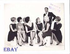 Jerry Lewis w/sexy babes VINTAGE Photo Errand Boy