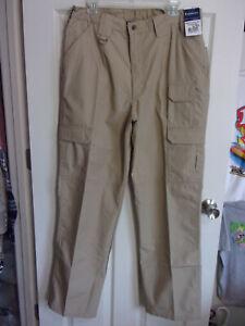 NWT~Propper Women's Uniform Tactical Cargo Pants~Tan Ripstop~Size 16 (35x33)