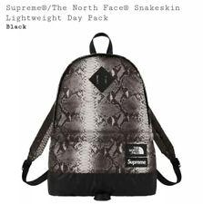 Supreme The North Face Pelle di Serpente leggero giorno Pack Nero Retro-Pack Zaino