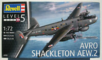 REVELL 04920 - AVRO SHACKLETON AEW.2 - 1:72 - Flugzeug Modellbausatz - Model Kit