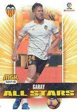 512 EZEQUIEL GARAY ARGENTINA VALENCIA.CF ALL STARS CARTA CARD MGK 2018 PANINI