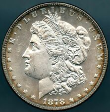 1878 7 T.F. REV 1878 Choice Uncirculated Deep Mirror Cameo