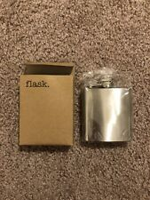 3 oz Stainless Steel Flask - Brand New In Packaging