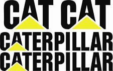 CATERPILLAR - CAT - Decals Set of 4 - TRUCK VEHICLE DECALS