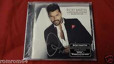 Ricky Martin A Quien Quiera Escuchar Bonus Tracks Deluxe Signed CD Latin Grammy