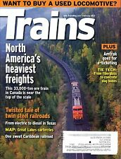 Trains Magazine February 2012 North America's heaviest freights