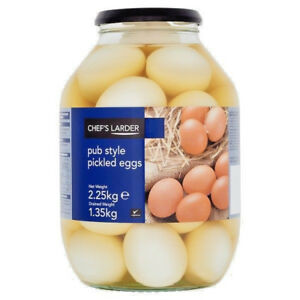 Pickled Eggs Pub Style by Chef's Larder 2.25kg