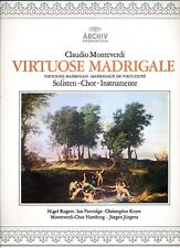 Claudio Monteverdi Virtuose Madrigale - Archiv - Nigel Rogers Ian Partridge