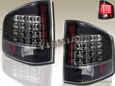 94 95 96 97 98 99 00 01 02 03 04 Chevy S10 Sonoma Tail Lights Black LED