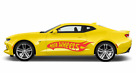 Large Hot Wheels Flames Car Body Vinyl Sticker Decals - Set Of 2 - Left Right