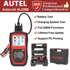 Autel AutoLink AL539B Battery Electrical Tester Auto OBD2 Code Reader Scanner
