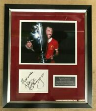 Alan Kennedy Signed Liverpool Framed Display - European Cup 1981