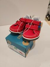 Stride Rite Surprize Toddler Boys Red Sneakers Size 5