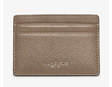 254ed96582d3 NEW BOX Michael Kors Men's Harrison Leather Card Case Holder Wallet ~ Taupe  $58