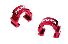 MOWA C-Clip Road Cyclocross Mountain Bike Cable Housing Hose Guide 6pcs 3g Red