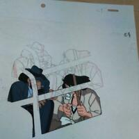 Lupin III The Third 3rd Original Animation Cel Painting Anime Japan I-18