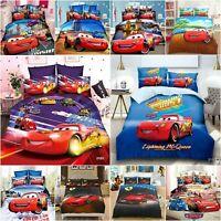 Disney Cars Twin/Full/Queen Size Quilt/Duvet Cover Set or Sheet Set
