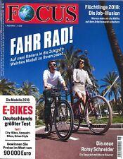 FOCUS Magazin - Heft 15/2018: Fahr Rad!  +++ wie neu +++