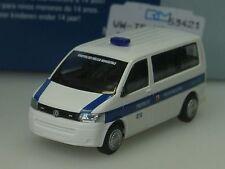 Rietze VW T5 Polizei, POLIZIA MUNICIPALE Italien - 53421- 1/87
