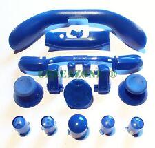 XBOX 360 NAVY BLUE Ricambio Controller Pulsanti Inc Abxy, pollici, guide, D Pad