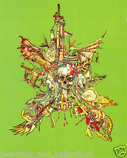 David Choe unframed Book Page = Frame it anyway you want!
