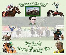 Horse RACING LUCKY Tappetino mouse edizione limitata grande regalo