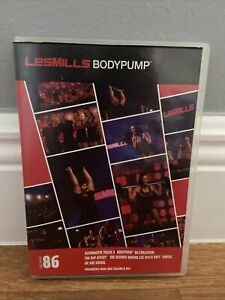 Les Mills Body Pump Release #86 WITH DVD CD  W/O booklet