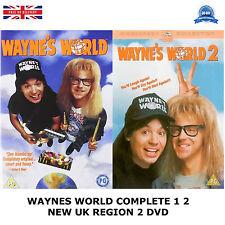 WAYNES WORLD COMPLETE SERIES 1 2 Mike Myers, Dana Carvey, Rob NEW UK R2 DVD