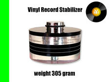 305gram Turntable Weight / Vinyl Record Stabilizer - W-300G by London Analogue