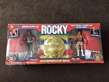JAKKS Pacific - Rocky Action Figure Championship Set (Belt, Gloves and Figures)