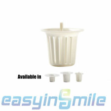 Dental Cuspidor Bowl Strainer White 3size 10x Fits Siemens34cm Bowleasyinsmile