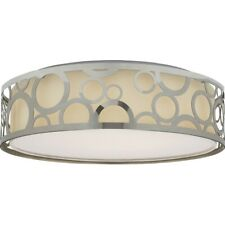 "Nuvo Lighting 14"" LED Decor Flush Mount in Polished Nickel - 62-988"