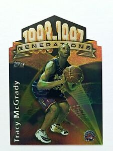 Tracy McGrady #G30 Rookie Card RC Topps 1997