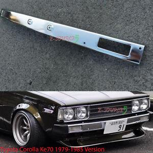Front Steel Chrome bumper Corolla KE70 TE72 AE70 AE71 1300 DX GL JDM New