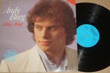 Andy Borg -Adios Amor- LP Musterplatte, EMI / AWA Intershop near mint