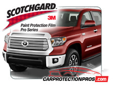 2014-2019 Toyota Tundra 3M Pro Series Clear Bra Bumper Paint Protection Kit