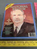 National Review Magazine April 7, 1989 XLI, NO. 6