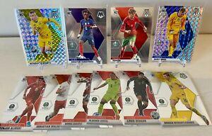 2020-2021 Panini Mosaic Euro Soccer - 10 Card Rookie Lot w/ Camavinga & Trincao