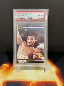 1991 Players International Mike Tyson Ringlords Sample PSA 8 BOXING RARE 📈