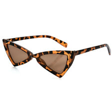 Women Vintage Triangle Sunglasses Fashion Anti-UV Glasses Retro Cat Eye Eyewear