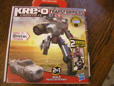 KRE~O Transformers #30690 PROWL Autobot Military Strategist POLICE CAR or ROBOT
