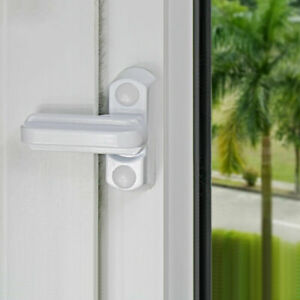 10Pcs Window Safety Locks UPVC Door Sash Jammer High Security Restrictor Lock UK