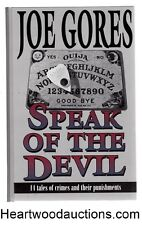 Speak of the Devil by Joe Gores FIRST- High Grade