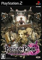 POISON PINK PS2 Banpresto Sony Playstation 2 From Japan