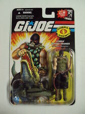 "GI Joe ""CROC MASTER"" action figure GI JOE 25TH ANNIVERSARY series MOC 2008"