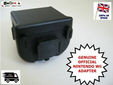 OFFICIAL Nintendo Wii Motion Plus Sensor Adapter RVL-026 BLACK For Controller