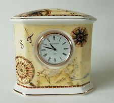 Wedgwood Atlas Mantle Clock